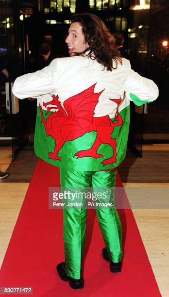 Interior designer Laurence LlewelynBowen arriving at The Royal Albert Hall for the National Television Awards