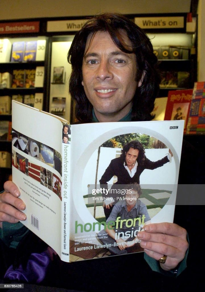 Interior Designer Laurence Llewelyn Bowen Launches His New Book Home Front Inside Out At Waterstones