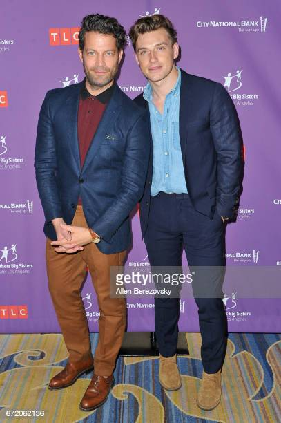 Interior designer Nate Berkus and husband Jeremiah Brent attend Big Brothers Big Sisters of Greater Los Angeles' annual Accessories for Success...