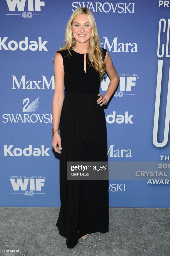 Interior designer Nina Freudenberger attends Women In Film's 2013 Crystal + Lucy Awards at The Beverly Hilton Hotel on June 12, 2013 in Beverly Hills, California.
