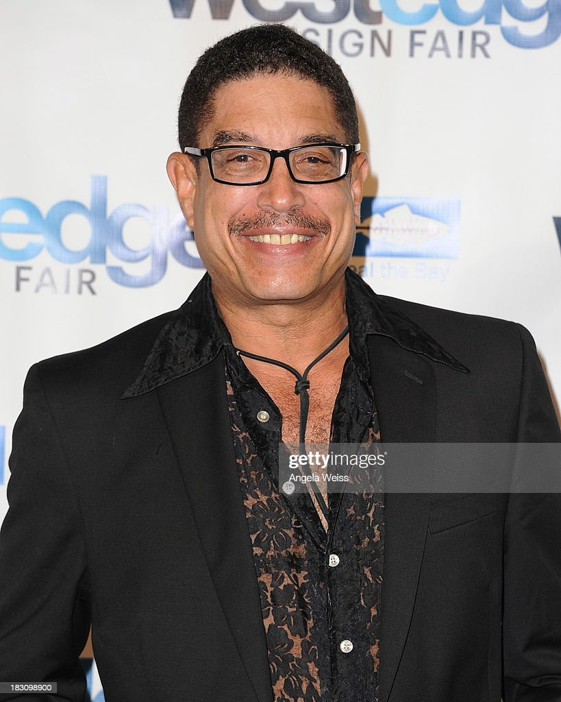Interior designer Roderick Shade attends the WestEdge Design Fair opening night benefiting Heal the Bay at Barker Hangar on October 3, 2013 in Santa Monica, California.