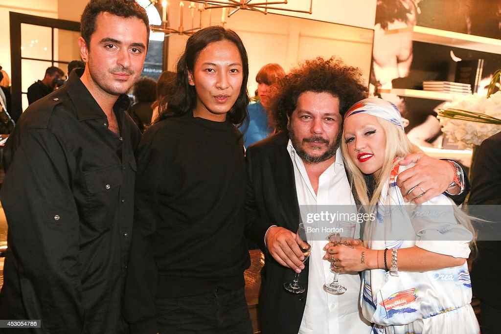 Interior designer Ryan Korban, fashion designer Alexander Wang, Pascal Dangin, and rapper <a gi-track='captionPersonalityLinkClicked' href=/galleries/search?phrase=Brooke+Candy&family=editorial&specificpeople=10485800 ng-click='$event.stopPropagation()'>Brooke Candy</a>, attend Nicole Richie, Eric Buterbaugh and Nevena Borissova host Ryan Korban's 'Luxury Redefined' on August 1, 2014 in Los Angeles, California.