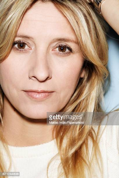 Interior designer Sarah Lavoine is photographed for Madame Figaro on March 2 2017 in Paris France PUBLISHED IMAGE CREDIT MUST READ Vincent...
