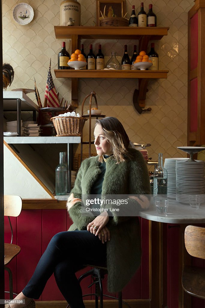 Interior Designer Tamsin Johnson Is Photographed For Wish On February 9 2016 In New York