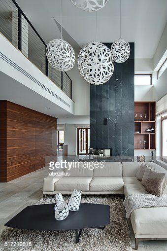 Interior in a modern style : Stock Photo