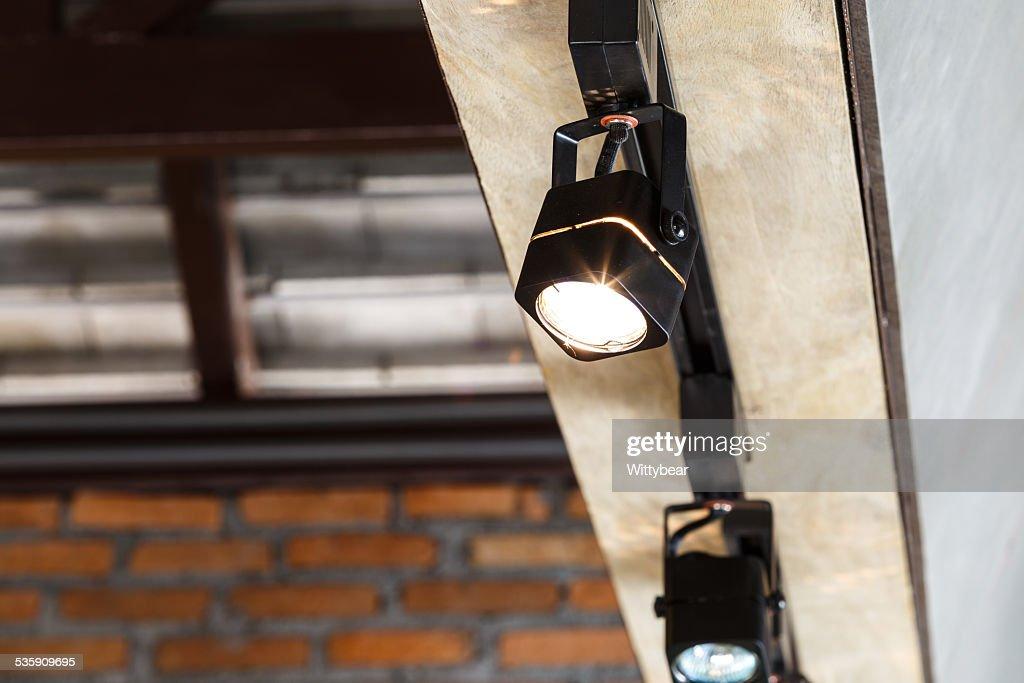 Interior lamp for lobby : Stock Photo