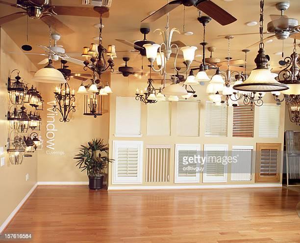 Interior LIghting Shutters Design Home