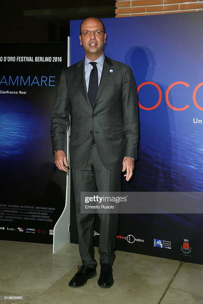 'Fuocoammare' Photocall In Rome