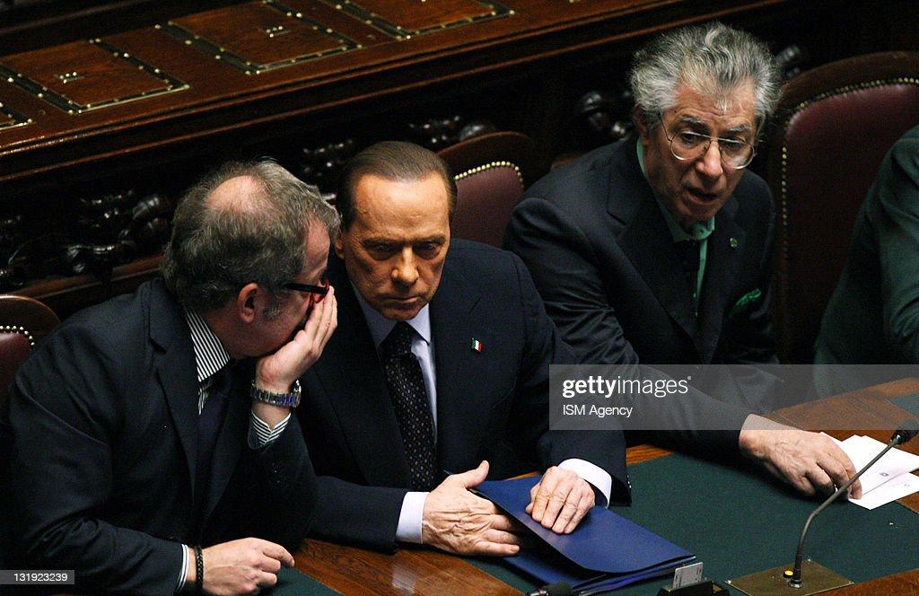 Italian Prime Minister Silvio Berlusconi Faces Vote of Confidence