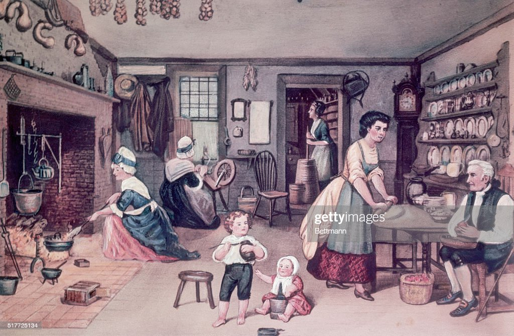 Colonial Kitchen Stock Photos And Pictures | Getty Images