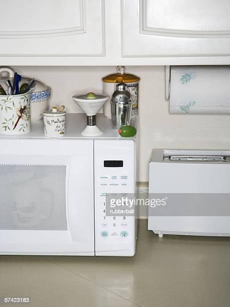 Interior of a domestic kitchen