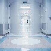 Interior of a hospital