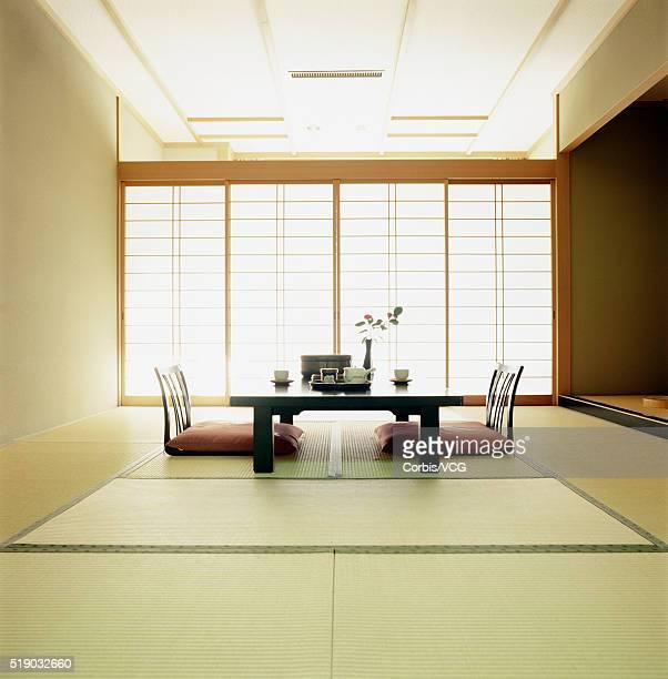 Interior of a Japanese inn