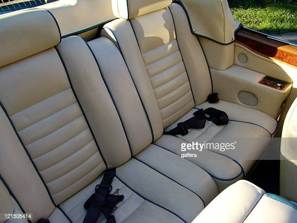 interior of a luxory car