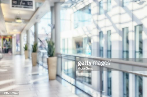 Interior of a modern building : Stock Photo