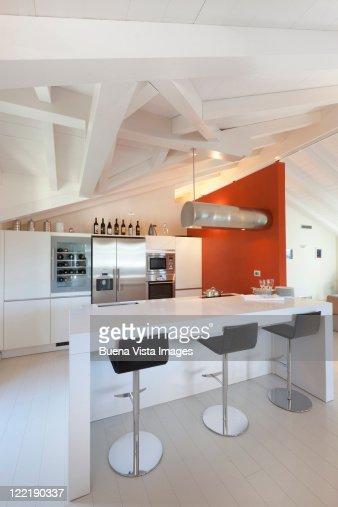 Interior of a modern Italian home : ストックフォト