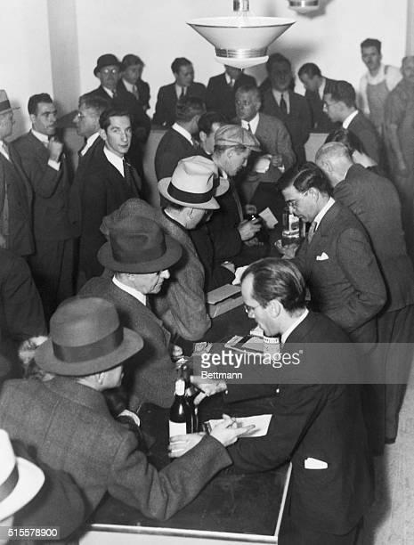 Interior of a speakeasy during prohibition Photo