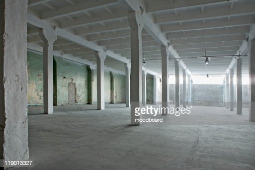 Interior of a warehouse : Foto stock