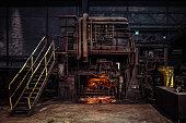 Fascinating warehouse industrial interior
