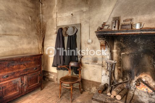 Int rieur dune ancienne maison de campagne photo thinkstock for Interieur maison de campagne