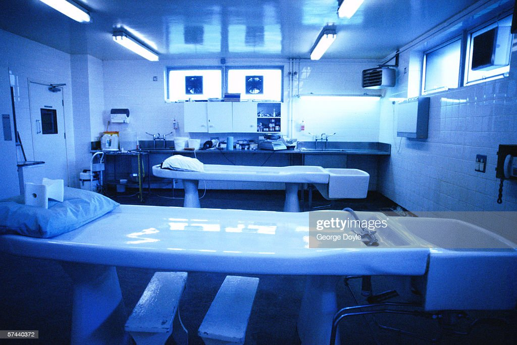 interior of an operating room in a hospital : Stock Photo