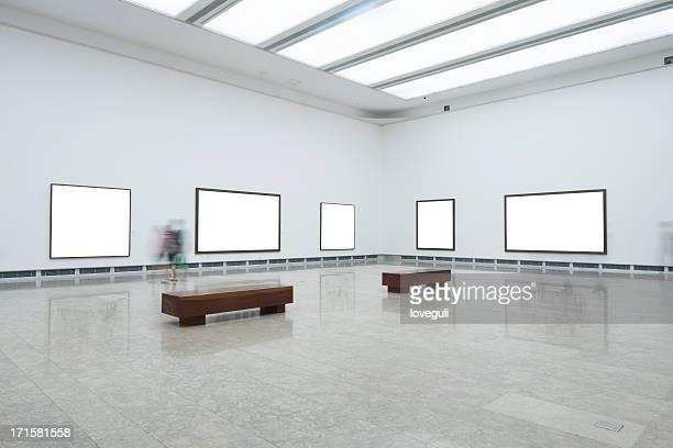 interior of art museum