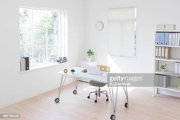 Interior of bright office