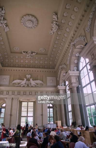 Interior of Cafe Gloriette, Schloss Schonbrunn, Hietzing.