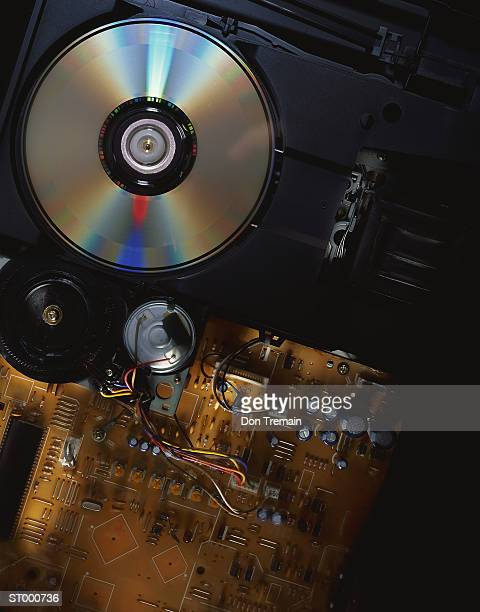 Interior of CD Player