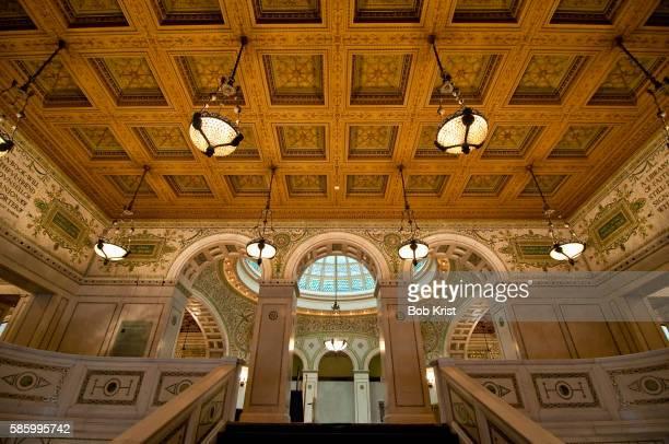 Interior of Chicago Cultural Center