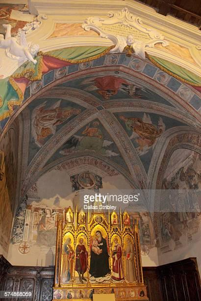 Interior of 'Chiesa di San Giorgio', Montemerano