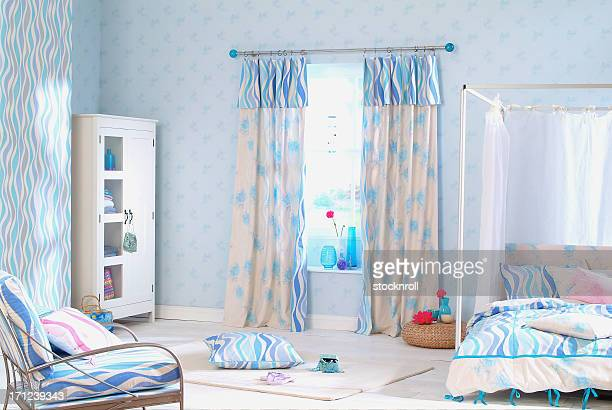 Interior of childrens bedroom