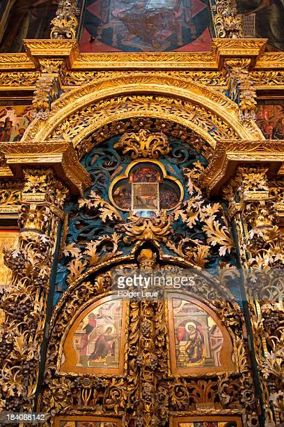 Interior of Church of St. Elijah the Prophet