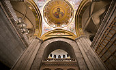 Interior of Church of the Holy Sepulchre.