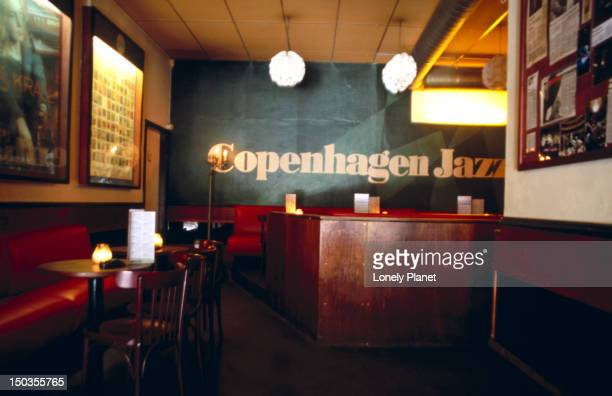 Interior of Copenhagen Jazz House.