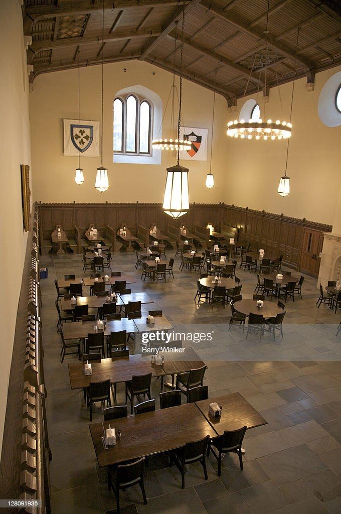 Interior Of Dining Hall At Whitman College Princeton University NJ USA