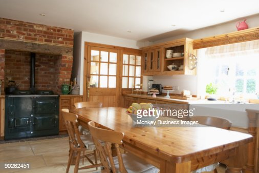 Interior Of Farmouse Kitchen : Photo