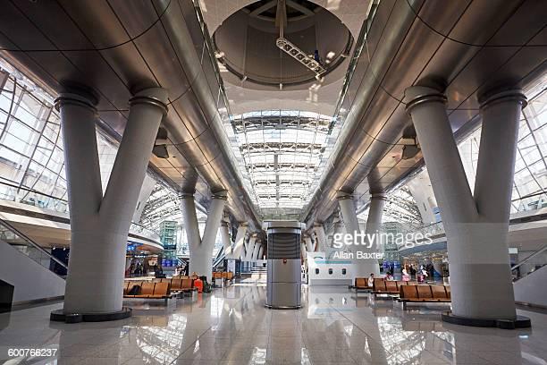 Interior of Incheon airport, South Korea
