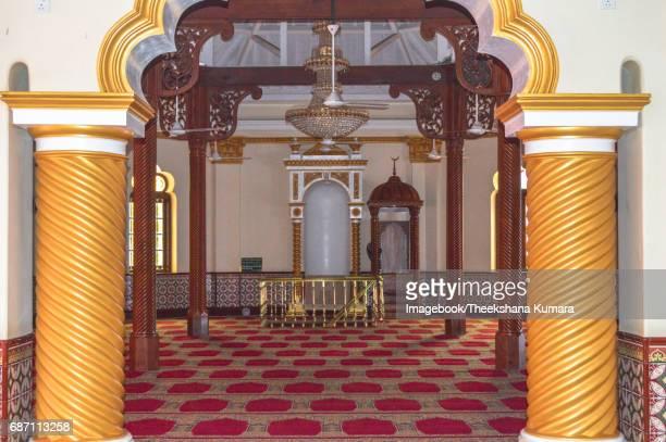 Interior of Jami Ul-Alfar Mosque