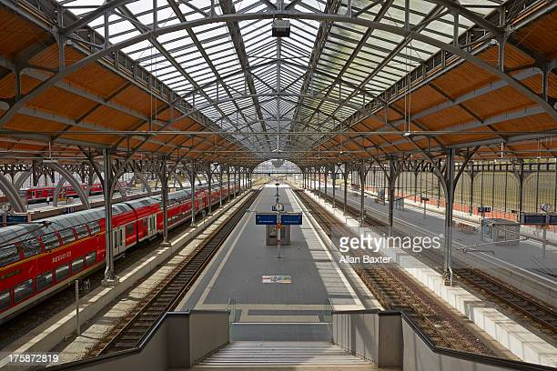 Interior of Lubeck Central Station