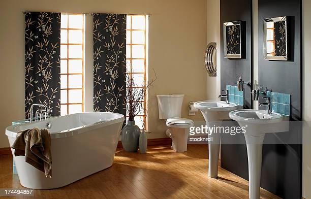 Intérieur de salle de bains de luxe