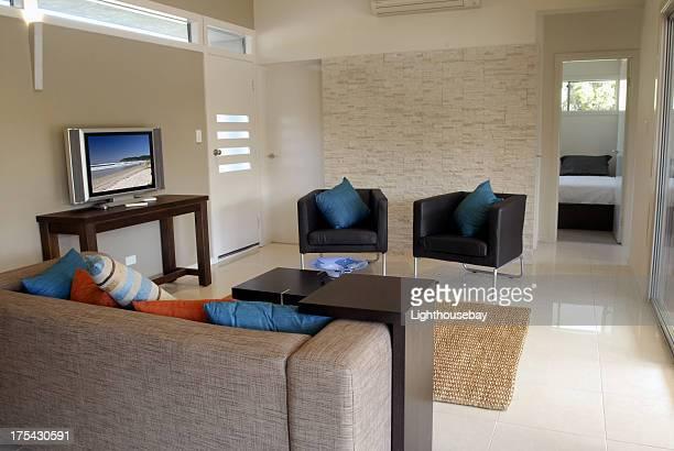 Intérieur de l'appartement de luxe