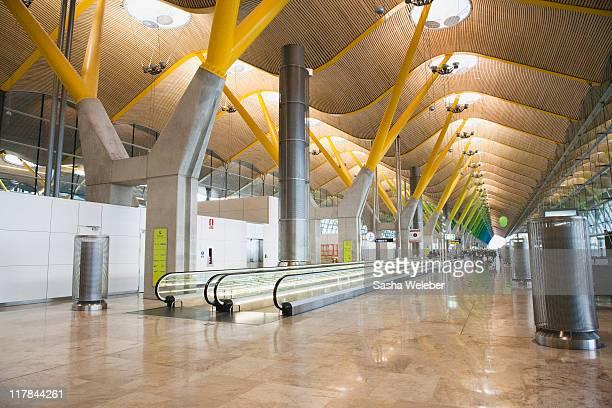 Interior of Madrid Airport