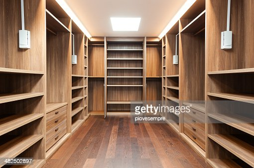 Interior of modern house : Stock Photo