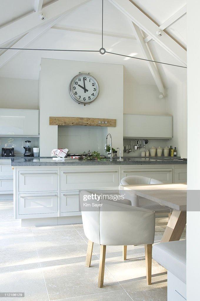 Interior of modern kitchen : Stock Photo