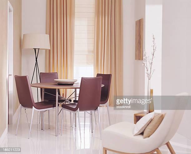 Interior of modern Lounge / Living Room