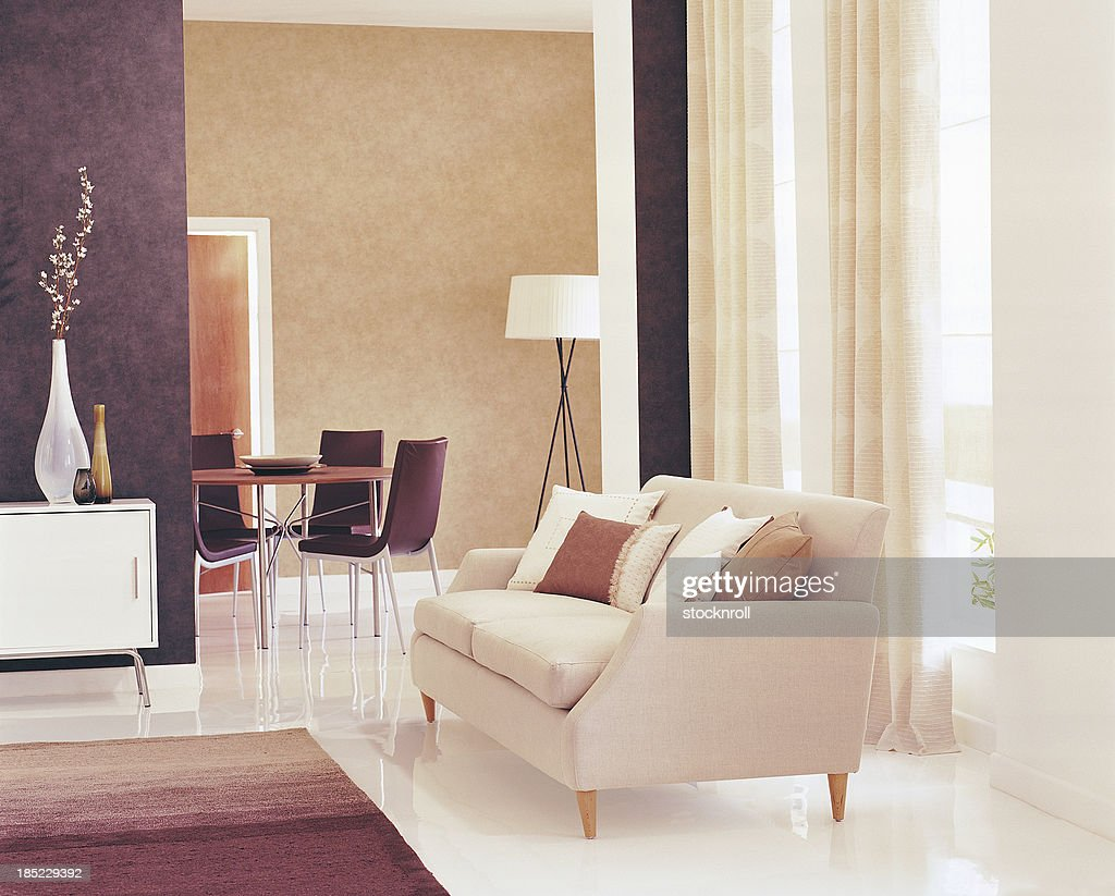 Interior of modern Lounge / Living Room : Stock Photo