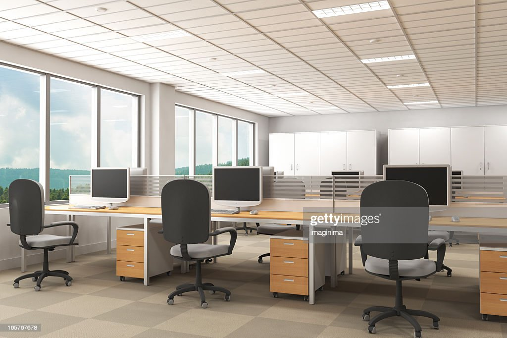 Interior Of Modern Office With Carpet Flooring Stock Photo Getty
