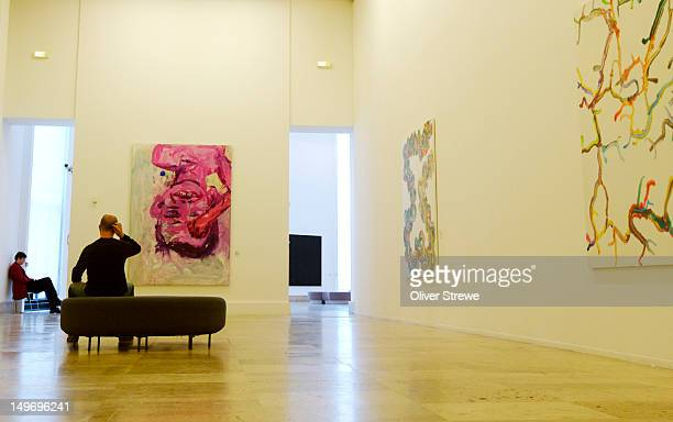 Interior of Musee d'Art Moderne de la Ville de Paris, 11 Avenue du President Wilson.