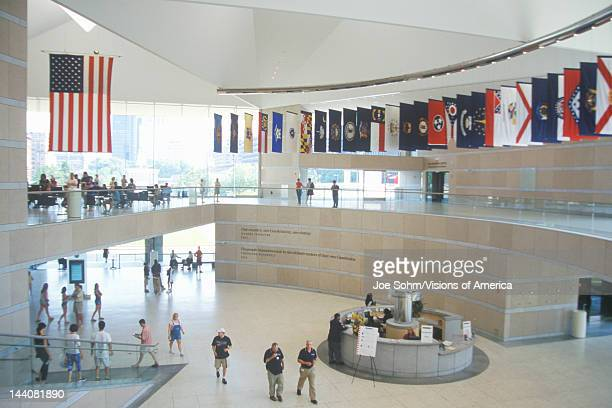 Interior of National Constitution Center for the US Constitution on Independence Mall Philadelphia Pennsylvania